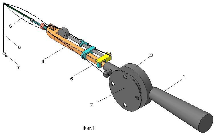 Механический хлыстик для зимней удочки своими руками